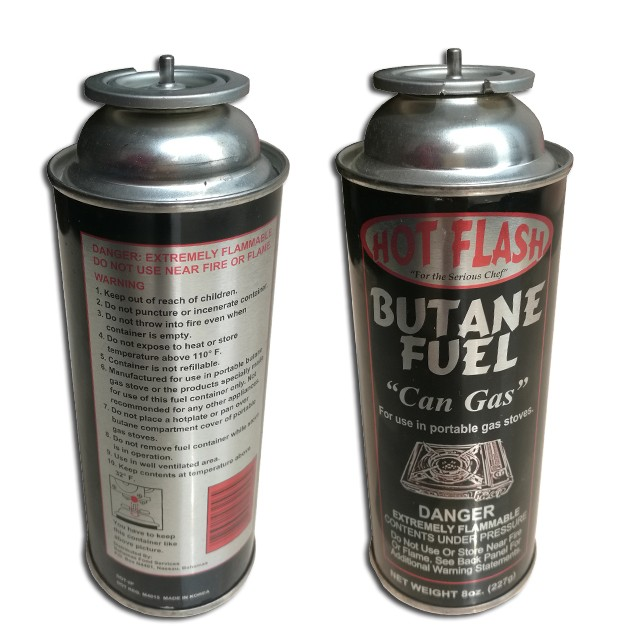 BBQ lighter gas butane gas cartridge canister can cylinder for portable gas