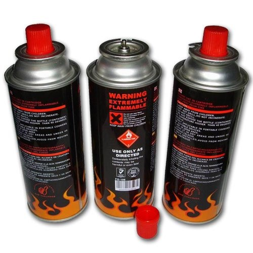 Made in china 227g empty sun  prime butane gas refill for portable stove