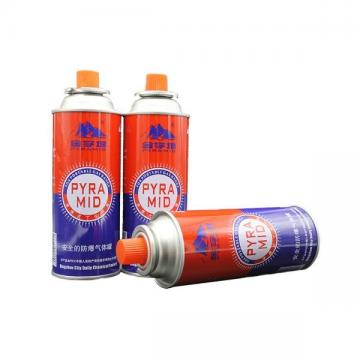 Made in china camping gas butane canister refill 227g and cartridge gas butane 227g