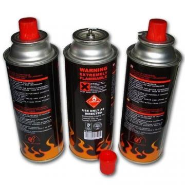 straight wall empty spray can for butane for 250gm